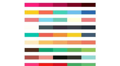 flat color combination flat ui color swatches aco autumn edition web3canvas