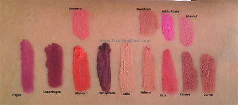 Nyx Soft Matte Lip milan travelingblush