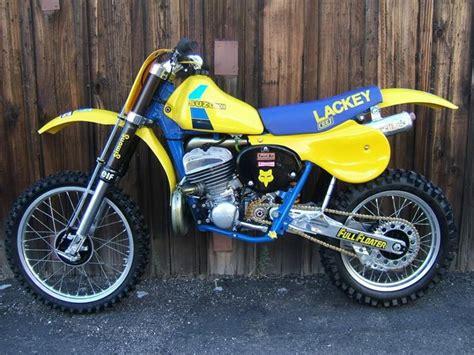 Suzuki Dirt Bikes Canada 1983 Suzuki Rh500 Works Bike Of Brad Lackey Vintage