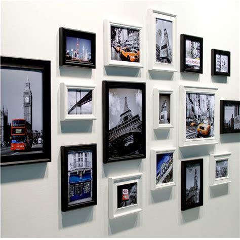 photo frame collage set aliexpress buy fashion landmark wall photo frame
