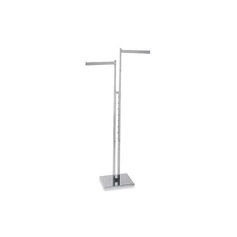 2 way rectangular tubing rack with arms