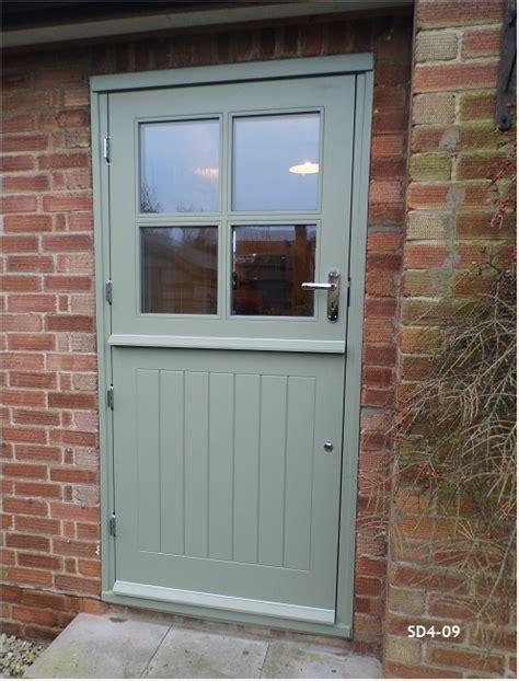 Bespoke Doors Stable Door With 4 Panes Made From Oak Stable Front Doors