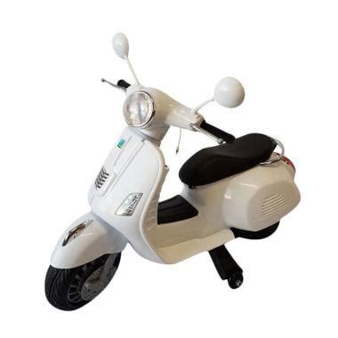Mainan Anak Motor Aki Unikid Mb106 Motor Vespa Glam jual vespa anak terbaru harga murah blibli