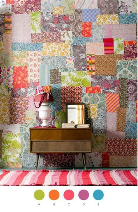 Ideas For Patchwork - 35 great ideas for patchwork wall decoration interior