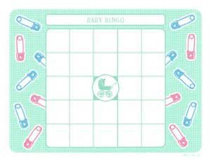 Baby Shower Bingo Card Template Baby Shower Bingo Template Free Images