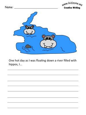 hippo writing prompt