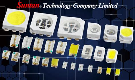 Led Type Smd suntan launches new product smd led