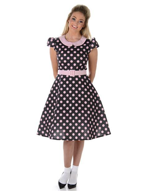 imagenes retro años 50 disfraz vestido a 241 os 50 puntos rosas mujer disfraces