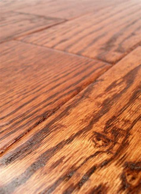 lw mountain hardwood floors oak saddle stain one strip distressed click hardwood flooring 125 mm