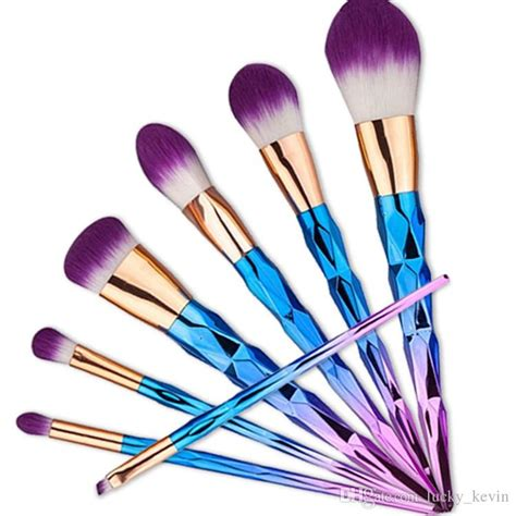 Make Up Tools makeup brushes colorful make up brush wool