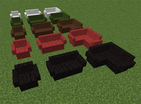 how do you make a couch on minecraft couch mrcrayfish s furniture mod wiki fandom powered
