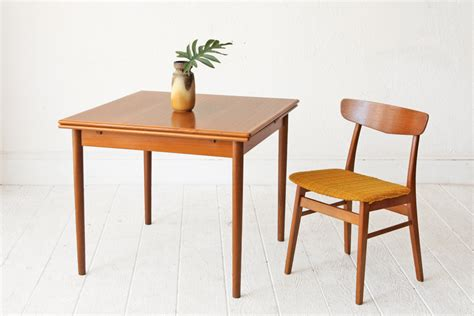 Danish Dining Room Table Dining Room Table Teak Danish Mid Century By Othertimesvintage