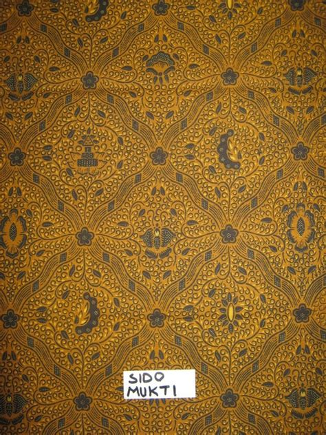 wallpaper batik sido mukti motif batik klasik batik indah rara djonggrang