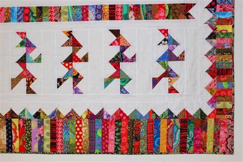 Best Modern Quilt Blogs by Selvage Modern Scrap Quilt 2 Camelot