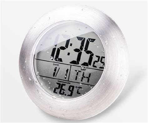 waterproof clocks for bathroom popular bathroom waterproof clock buy cheap bathroom waterproof clock lots from china