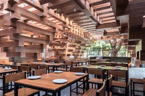 Restaurant Architecture Cheering Restaurant H P Architects Archdaily