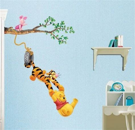 baby winnie the pooh wall stickers winnie the pooh baby nursery room wall sticker tiger