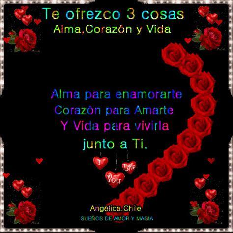 imagenes con movimiento frases de amor frases de amor con movimiento con un corazon de rosas