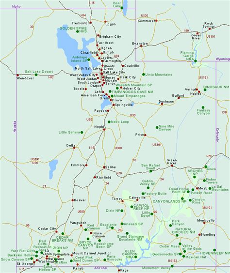utah printable map best pict utah state maps emaps world