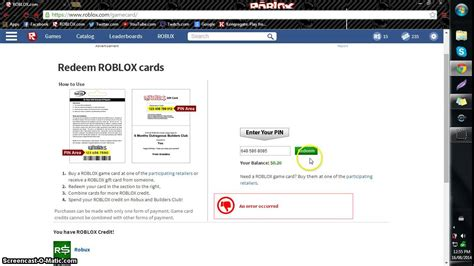 how to reedem roblox card and buy robux roboxtotourials