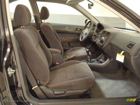 2000 Honda Civic Ex Coupe Interior by Gray Interior 2000 Honda Civic Ex Coupe Photo 58908577