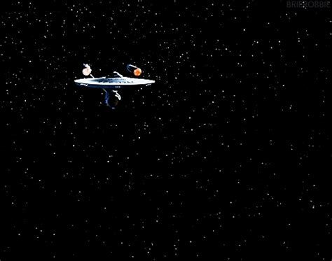 spaceship cus apple trek gif find on giphy