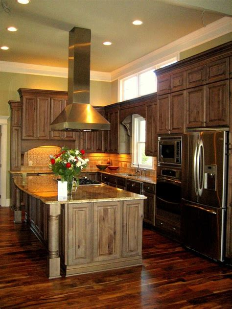 Grey Wash Kitchen Cabinets by Maple Cabinets With Gray Wash For The Home