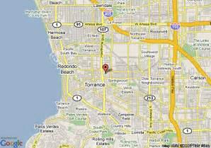 map of marriott torrance south bay torrance
