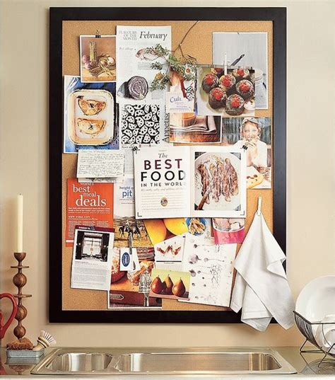 kitchen bulletin board ideas framed corkboard traditional bulletin boards and