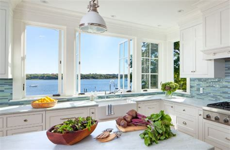 Beadboard Kitchen Cabinets by A Fresh Perspective Window Backsplash Ideas And The