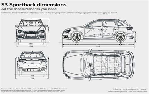 Audi S3 Dimensions by Audi S3 Sportback Audi Uk
