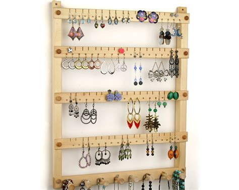 jewelry organizer jewelry holder hanging by tomsearringholders