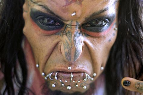 tattooed eyes meet the terrifying of colombia with completely