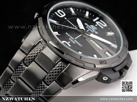 Casio Edifice Efr 104bk 1av buy casio edifice all black black ion plated mens