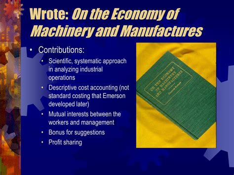 on the economy of machinery and manufactures classic reprint books ppt the industrial revolution in great britain