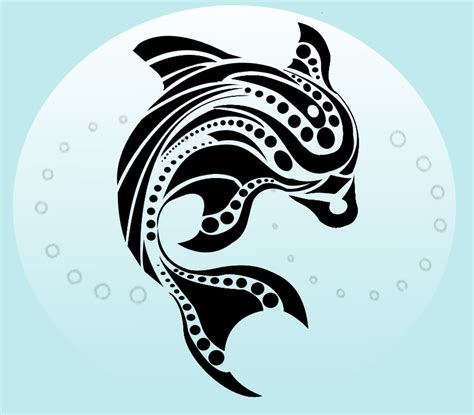 tribal dolphin tattoos gallery tribal dolphin designs zentrader