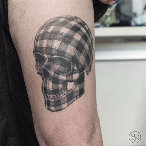 plaid tattoo designs the coolest skull tattoos you ll see 50 photos