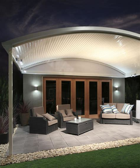 Stratco Pergola Kit by Stratco Outback Curved Patio Verandah Mount Barker Steel