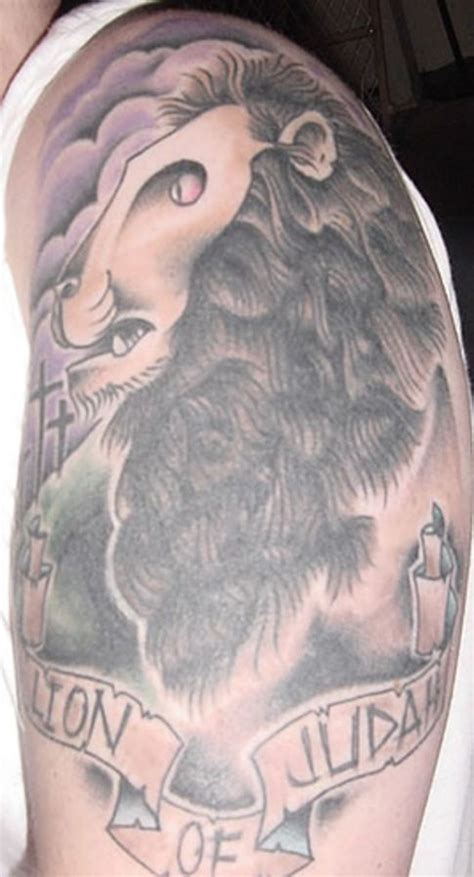 christian lion tattoo 1000 images about tattoos on
