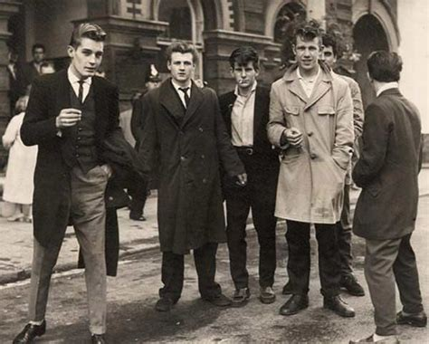 1950s greaser boys 1950s teddy boys style trends history pictures
