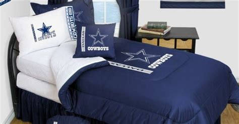 dallas cowboys bedroom decor dallas cowboys bedding nfl comforter and sheet set combo
