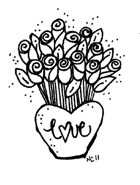 black and white coloring pages of roses rose images clipart black and white impremedia net