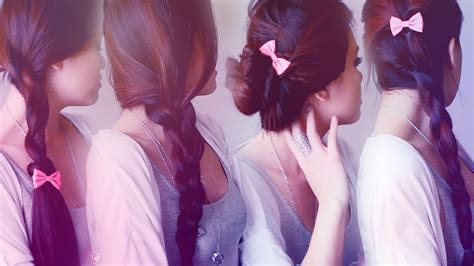 easy back to school hairstyles no heat 5 easy back to school hairstyles in 5 minutes no heat