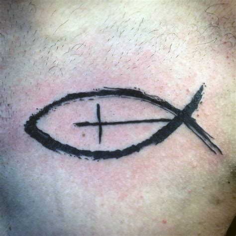 ichthus tattoo 40 ichthus designs for jesus fish ink ideas