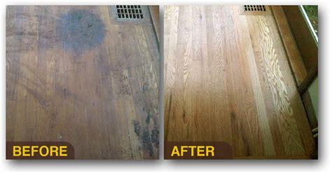 Refinished Hardwood Floors Before And After Hardwood Floor Refinishing