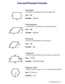 area formula geometry worksheets area and perimeter worksheets