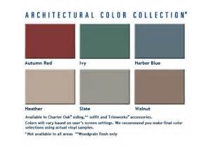 alside siding colors home depot vinyl siding color chart images