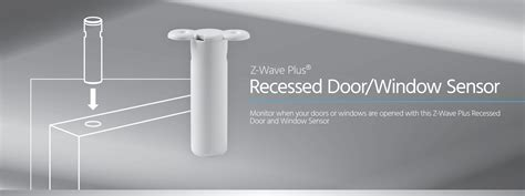usb door sensor monoprice z wave plus recessed door window sensor no logo