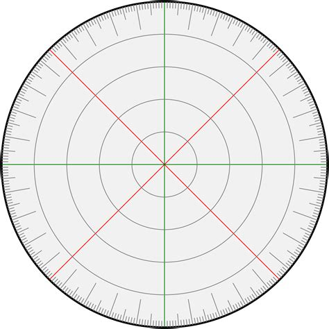 circle protractor template 360 degree protractor template clipart best