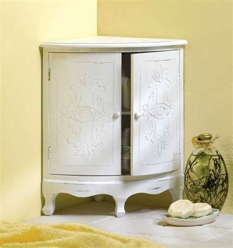 corner cabinet for bathroom 20 corner cabinets to make a clutter free bathroom space house decorators collection